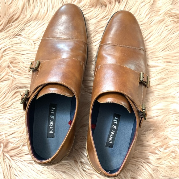 Parker & Sky Other - Parker & Sky | Brown Leather Dress Shoes - Size 11